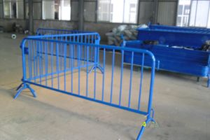 Powder Coated Welded Metal Bar Temporary Fence (Anjia-087) pictures & photos