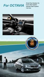 Octavia Entry Keyless Go Smart Key Push Button Remote Start Can-Bus Alarm for Skoda