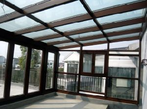 Energy Saving Aluminum Portable Veranda Sunroom (pH-8115) pictures & photos