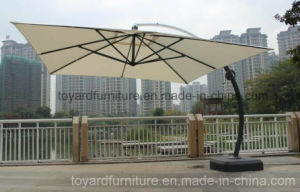 Best Choices 10 FT Square Aluminum Hanging Outdoor Patio Umbrella for Garden Cafe Tables pictures & photos