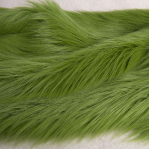 Natural Green High Pile Plush (DCM013)