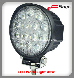 4x4 Car Accessory LED Work Light 42W, Auto LED Lighting with High Power, Car Light