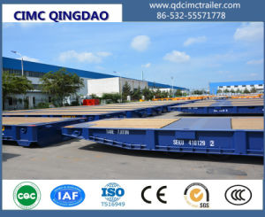 120 Ton Goosenec Flatbed Containerk Mafi Roll Roll Trailer pictures & photos
