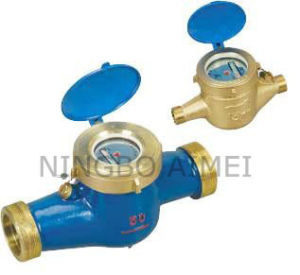 Multi-Jet Dry Type Vane Wheel Water Meter (LXSC-13~50) pictures & photos