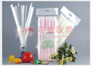 High Quality Individual Paper Wrapped Straw pictures & photos