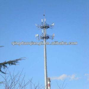 GSM Antenna Telecommunication/Communication Monopole Tower