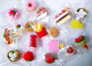 Fruit and Food Eraser for Children School Stationery