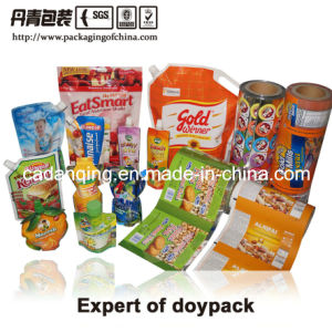 Plastic Packaging, Good Quality, Whole Sale, Spouted Juice Pouch pictures & photos