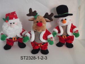 Santa&Reindeer&Snowman Dance Cha-Cha (ST2328-1-2-3)
