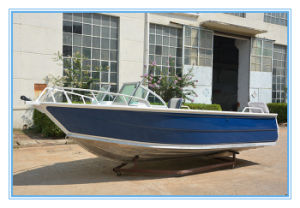 China Manufacturer 5m/17FT Runabout Aluminum Fishing Boat pictures & photos