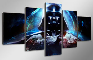 HD Printed Star Wars 5 Piece Picture Painting Wall Art Canvas Print Room Decor Poster Canvas Mc-014 pictures & photos
