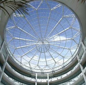 china nano coating self cleaning toughened glass skylight china