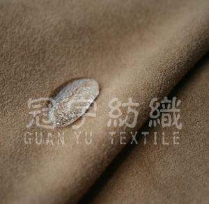 Hot Sals Micro Suede 100% Polyester Fabric for Furniture pictures & photos