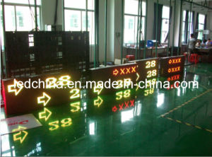 Outdoor Dual-Color LED Moving Message Sign Board pictures & photos