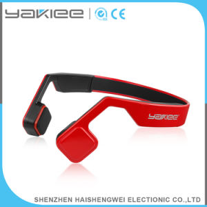 3.7V/200mAh Sport Bone Conduction Wireless Bluetooth Stereo Headphone pictures & photos