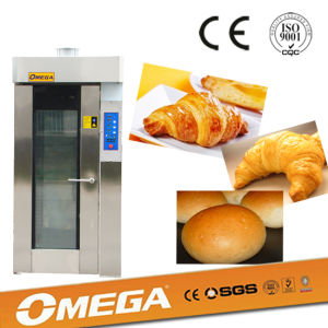18 Trays Stainless Steel Gas Bakery Rotary Rack Ovens for Sale (manufacturer CE&9001) pictures & photos