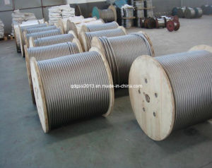 7X19 4.52mm Stainless Steel Strand Wire Rope and Cable
