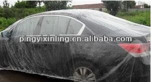 Disposable Plastic Transparent Cover for Automobile pictures & photos