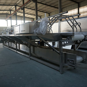 Audited China Factory Manual Fish Cutting Table Fish Processing Table Fish Cutter pictures & photos