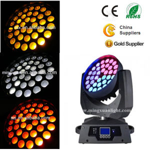 36*10W 6in1 RGBWA&Ua Wash LED Zoom Moving Head Light pictures & photos
