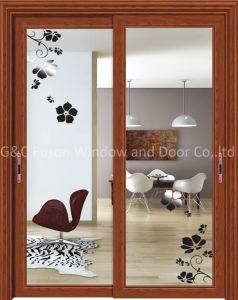 Customized Glass Design Aluminum Sliding Door Price pictures & photos