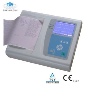 12/6 Channel ECG Machine, ECG Monitor and EKG Electrocardiograph (OW-ECG12) pictures & photos