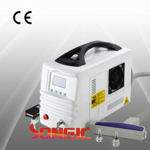 Portable CE Approved ND YAG Laser Tattoo Removal Equipment