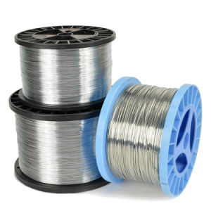 103020g10 Galvanized Flat Stitching Wire pictures & photos