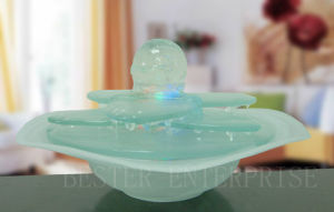 Indoor Glass Lighting Water Fountain (GF3008)
