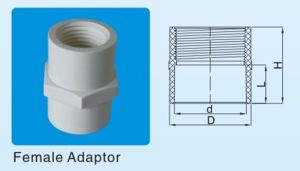 PVC Female Adaptor, Plastic Female Adapter pictures & photos