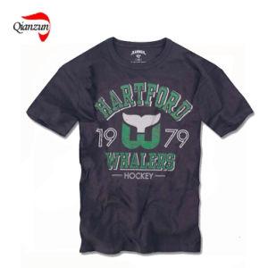 Machine Washable 100% Cotton T-Shirts (HF036) pictures & photos
