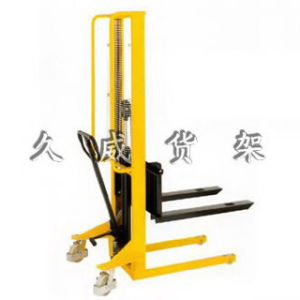 Manual Hydraulic Stacker (JW-0090C) pictures & photos