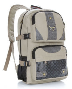 Special Design Laptop Bag Backpack with Canvas Material pictures & photos