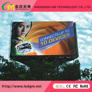 P10mm Outdoor Full Color Fixed Install Video Advertising LED Display (4*3m, 4*6m, 10*6m Billbord) pictures & photos