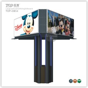 Outdoor Large Pole Trihedral Light Box, Trivision Advertising Billboard pictures & photos