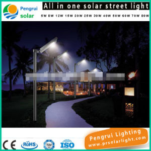 25W All in One LED Motion Sensor Energy Saving Outdoor Solar Garden Light pictures & photos