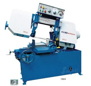 Horizontal Semiautomatic Bandsaw Machine with Saw Bench (GB4032A) pictures & photos