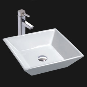 Unique Porcelain Bathroom Vessel Sink (6046)