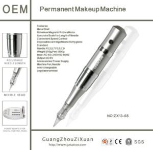 Semi Permanent Makeup Digital Cosmetic Tattoo Machine pictures & photos
