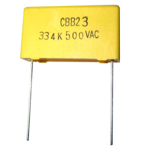 Metallized Polypropylene Film Capacitor Box Type (CBB23)