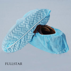 Disposable Non-Skid Shoe Cover Anti-Slip pictures & photos