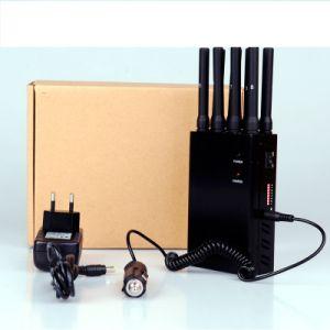 Terminator 8 Antenna Portable Cellphone Signal Jammer pictures & photos