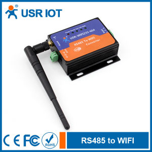 Serial RS485 to WiFi 802.11b/G/N Converter, Serial Device Server (USR-WiFi232-604)