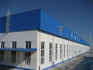 Low Cost Warehouse Steel Structure with Long Life Span