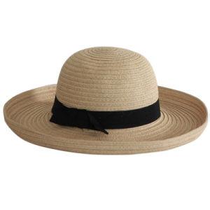 2014 New Design Straw Bucket Hat (OKM15-027) pictures & photos