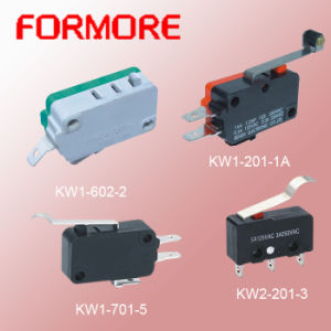 Different Size Micro Switch with Lever Roller pictures & photos