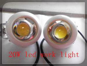 New Products in Guangzhou 20W CREE LED Work Light LED Headlight for Trucks Jeeps ATV UTV