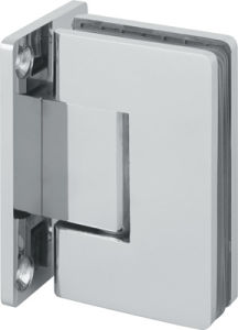 High Quality Glass to Wall 90 Degree Shower Hinge (SHT-A-ST) pictures & photos