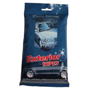 Flow Pack Automotive Cleaning Wet Wipes pictures & photos