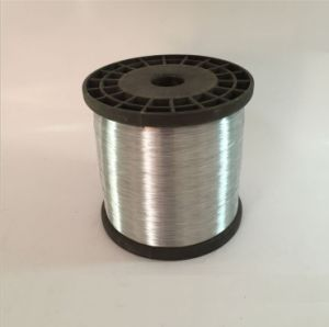 Electro Galvanized Wire 0.13 mm for Making Cleaning Scourer Ball pictures & photos